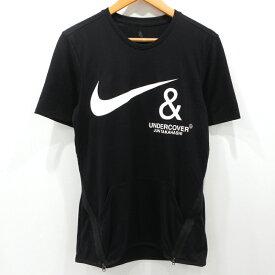 【中古】NIKE × UNDERCOVER ナイキ × アンダーカバー 19AW 半袖 Tシャツ CD7527-010 ブラック サイズ:S【f104】