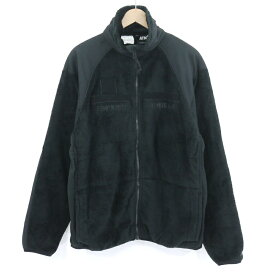 【中古】ATMOS|アトモス ATMOS LAB EMBROIDERY FREECE JACKET フリースジャケット ブラック サイズ:M【f092】