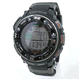 【中古】CASIO カシオ 腕時計 PRO TREK プロトレック PRW-2500-1JF ソーラー ブラック【f131】