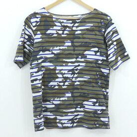 【中古】SOPHNET. ソフネット ボーダー柄 半袖Tシャツ ホワイトなど サイズ:L【f103】