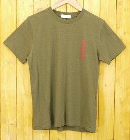 【中古】RADIALL /ラディアル FIESTA TEE 半袖Tシャツ サイズ:S カラー:カーキ