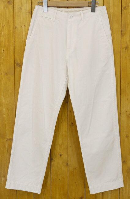 【中古】ORCIVAL/オーシバル ホワイトデニムパンツ サイズ:0 カラー:ホワイト【f112】