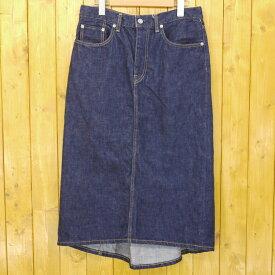 【中古】SCYE/サイ デニムロングスカート サイズ:38 カラー:ブルー【f111】