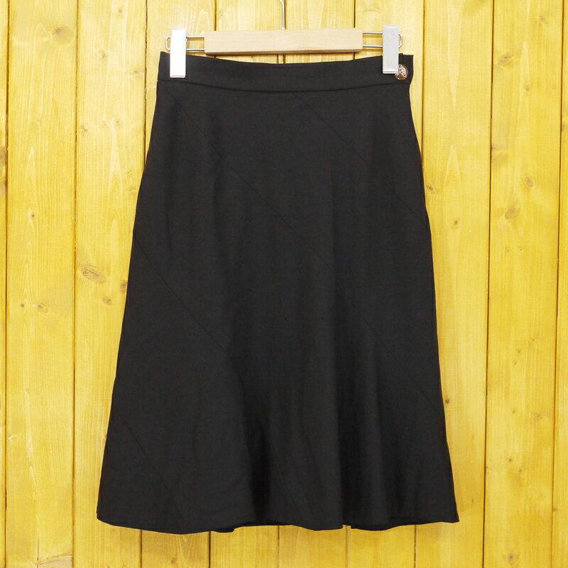 【中古】Vivienne Westwood/ヴィヴィアン・ウエストウッド スカート サイズ:1 カラー:ブラック【f112】