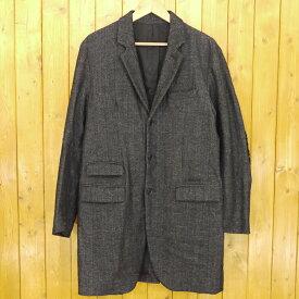 【中古】ROTTWEILER/ロットワイラー ロングジャケット コート サイズ:記載なし カラー:チャコール【f096】