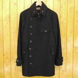 【中古】DOUBLE STANDARD CLOTHING/ダブルスタンダードクロージング コート サイズ:44 カラー:ブラック【f096】