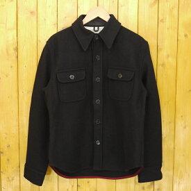 【中古】FIDELITY/フェデリティー WOOL CPO JACKET ウールCPOジャケット サイズ:M カラー:ブラック【f094】