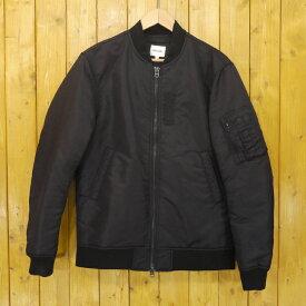 【中古】Morris & Sons/モリスアンドサンズ MA-1 ブルゾン フライトジャケット サイズ:2 カラー:ブラック【f094】