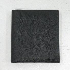 【中古】PORTER GLUE/ポーター グルー 吉田カバン 二つ折財布 079-02934 サイズ:- カラー:ブラック【f124】