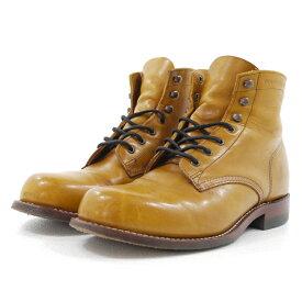 【中古】WOLVERINE/ウルヴァリン 1000MILE BOOTS 1000マイルブーツ W05848 サイズ:25.5cm カラー:ブラウン系 (TAN)【f127】