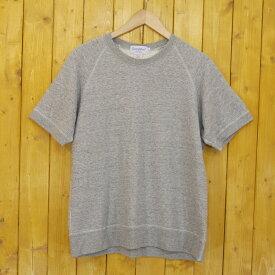 【中古】GYMPHLEX/ジムフレックス 半袖Tシャツ スウェット サイズ:M カラー:グレー【f112】