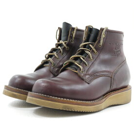 【中古】VIBERG BOOT/ヴァイバーブーツ レザーブーツ サイズ:8 カラー:ブラウン系【f127】