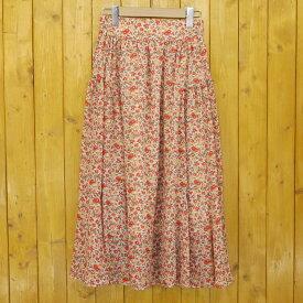 【中古】SNIDEL/スナイデル 総柄 花柄スカート サイズ:F カラー:マルチカラー【f112】