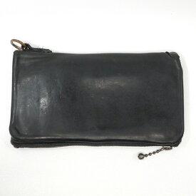 【中古】BACKLASH/バックラッシュ 長財布 サイズ:- カラー:ブラック【f124】