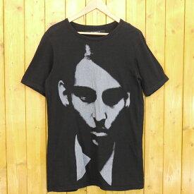 【中古】DRESSEDUNDRESSED/ドレスドアンドレスド 顔Tシャツ サイズ:2 カラー:ブラック【f104】