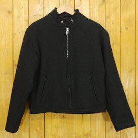 【中古】SCHOTT/ショット ウールジャケット サイズ:36 カラー:ブラック【f093】