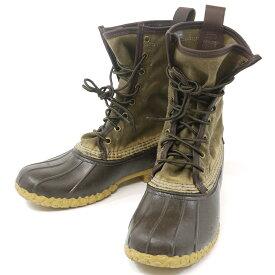 【中古】L.L.Bean/エルエルビーン シグネチャー ワックスキャンバス ブーツ サイズ:7 カラー:ブラウン【f127】