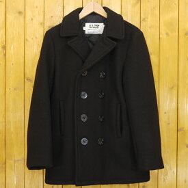 【中古】SCHOTT/ショット PEA COAT ダブルピーコート 740N サイズ:18 カラー:ブラック【f093】
