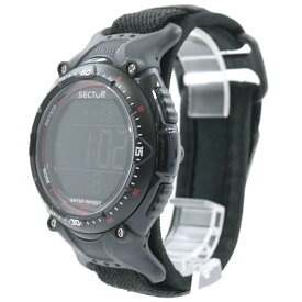 【中古】SECTOR/セクター 腕時計 EXPANDER エキスパンダー 3251172325 カラー:ブラック【f131】