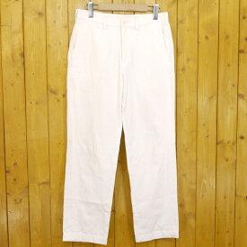 【中古】ISSEY MIYAKE MEN/イッセイミヤケ メン テーパードパンツ サイズ:1 カラー:ホワイト【f107】