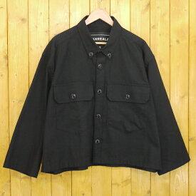【中古】ANREALAGE/アンリアレイジ ZOOM OX SHIRTS ズームシャツ ワイドシルエット サイズ:S カラー:ブラック【f096】