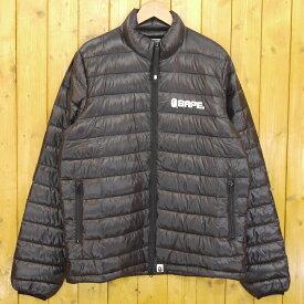 【中古】A BATHING APE/アベイシングエイプ ダウンジャケット サイズ:XL カラー:ブラック【f095】