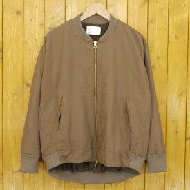 【中古】Kelen/ケレン バックタック MA-1ジャケット ブルゾン サイズ:S カラー:ブラウン【f112】