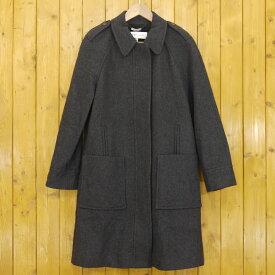 【中古】SEE BY CHLOE/シーバイクロエ ウール コート ロング サイズ:40 カラー:グレー【f112】