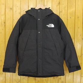 【中古】THE NORTH FACE/ザ・ノース・フェイス Mountain Down Jacket/マウンテンダウンジャケット GORE-TEX/ゴアテックス ND91930 サイズ:S カラー:ブラック【f092】
