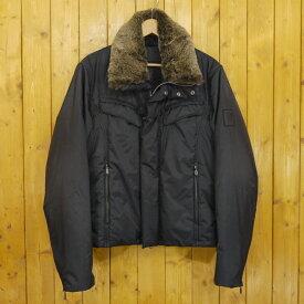 【中古】BELSTAFF/ベルスタッフ SILVER Label 中綿ジャケット サイズ:S カラー:ブラック【f093】