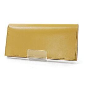 【中古】COCOMEISTER/ココマイスター レザー二つ折り長財布 カラー:キャメル【f124】