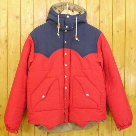 【中古】SUGAR CANE/シュガーケーン 中綿 パディング ウエスタンヨークフードジャケット サイズ:XL カラー:レッド・ネイビー【f093】