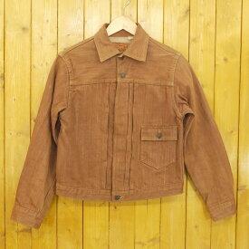 【中古】SUGAR CANE/シュガーケーン デニムジャケット サイズ:36 カラー:ブラウン【f093】