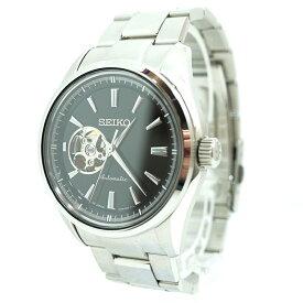 【中古】SEIKO/セイコー 腕時計 PRESAGE Basic Line プレザージュベーシックライン SARY053 自動巻き ステンレススティールベルト サイズ:- カラー:ブラック×シルバー【f131】