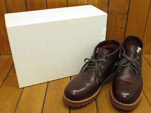 【中古】visvim/ビズビム/ヴィズヴィム レザーブーツ サイズ:US8(約26.0cm) カラー:ダークブラウン