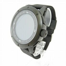 【中古】MATRIX POWER WATCH/マトリックス パワーウォッチ 充電不要 スマートウォッチ 腕時計 サイズ:ー カラー:ブラック【f131】