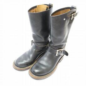 【中古】 WHITE'S BOOTS/ホワイツブーツ NOMAD MB9165C エンジニアブーツ サイズ:25.5cm カラー:ブラック【f127】