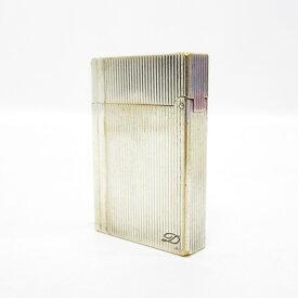 【中古】S.T.Dupont/エス・テー・デュポン ギャツビー ライター サイズ:ー カラー:シルバー【f134】