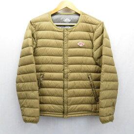 【中古】DANTON/ダントン インナーダウンジャケット サイズ:38 カラー:ブラウン系 / セレクト【f091】