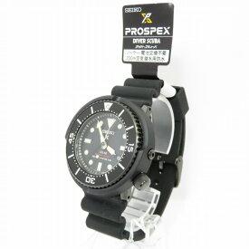 【中古】FSC X SEIKO |フリーマンズ スポーティング クラブ×セイコー PROSPEX DIVERS WATCH FINAL EDITION/300本限定/SBDN067-BSM03 腕時計 ブラック【f131】