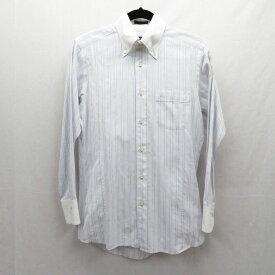 【中古】BURBERRY BLACK LABEL/バーバリーブラックレーベル 長袖シャツ サイズ:38 カラー:ホワイト / インポート【f102】