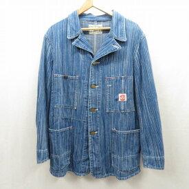 【中古】PHERROWS/フェローズ カバーオール ジャケット サイズ:40 カラー:ブルー / アメカジ【f093】
