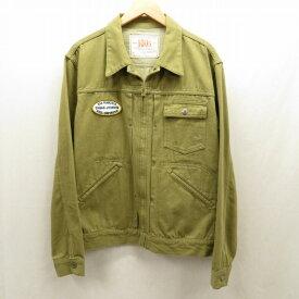 【中古】PHERROWS/フェローズ ジャケット サイズ:40 カラー:カーキ / アメカジ【f093】