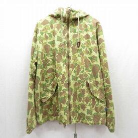 【中古】LAFAYETTE/ラファイエット Military Hooded Field Jacket ミリタリージャケット サイズ:L カラー:カーキ / ストリート【f095】
