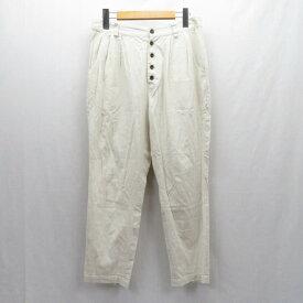 【中古】suzuki takayuki/スズキタカユキ パンツ サイズ:1 カラー:アイボリー【f113】