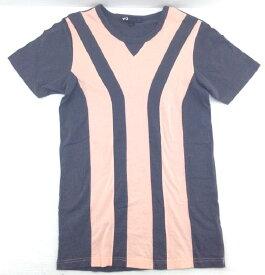 【中古】【Sサイズ】Y-3 ワイスリーadidas 山本耀司Yohji YamamotoSTRIPE TEE TシャツS89475【八代店】