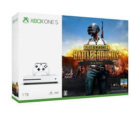 【中古】Xbox One S 1TB (PlayerUnknown's Battlegrounds同梱版) 234-00316 本体【加納店】