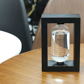 ストームグラス 気象計 天気予想 結晶 インテリア コンパクト おしゃれ オフィス 玄関 リビング 送料無料 ###気象計BAW11007###