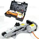 電動ジャッキ 2t カージャッキ バッテリー12Vシガーソケット対応 整備 フロアジャッキ ジャッキアップ タイヤ交換 オ…