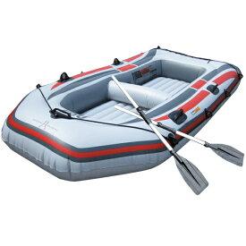 ボート ゴムボート 4人乗り ゴムボート オール2本セット PVC プラスチック 最大積載350Kg ファミリーサイズ アウトドア 避難用 防災 レスキュー 送料無料 お宝プライス ###4人乗りゴムボート236###